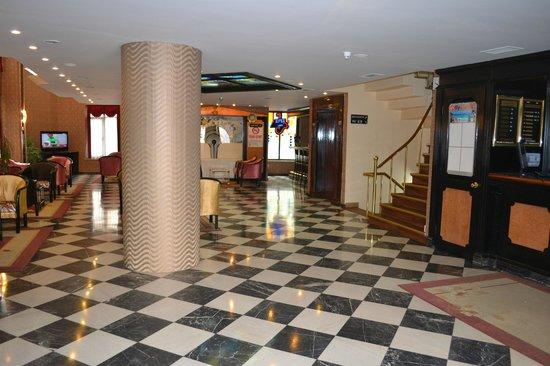Tayhan Hotel: lobby lift