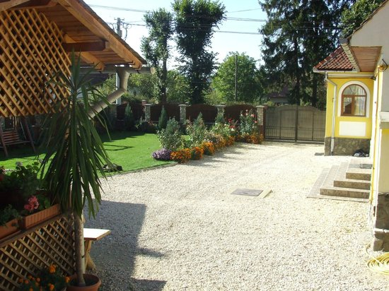 Casa Rasnoveana: courtyard