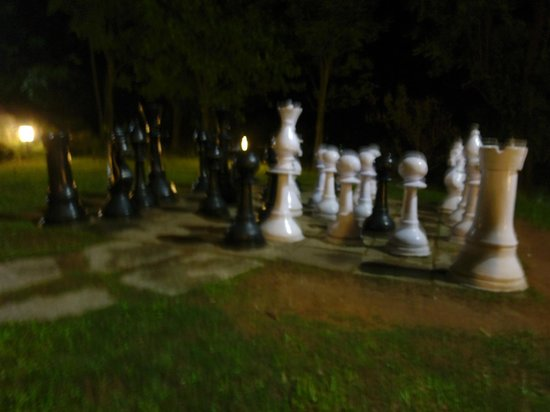 Club Mahindra Madikeri, Coorg:                   Biggg Chess Board