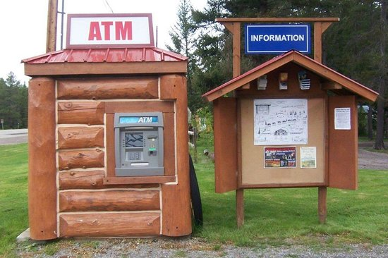 Historic Tamarack Lodge: On-site ATM