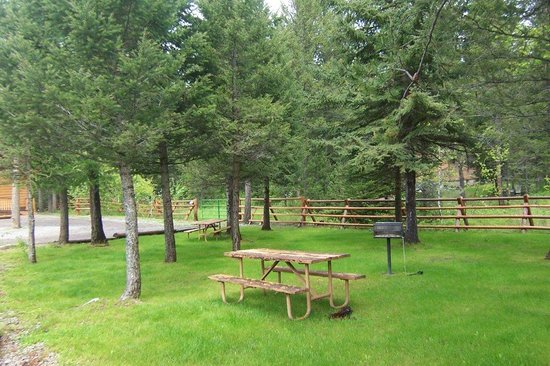 Historic Tamarack Lodge: Picnic areas are located throughout our property