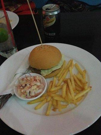 Phat Hamburgers:                   cheesy bacon burger