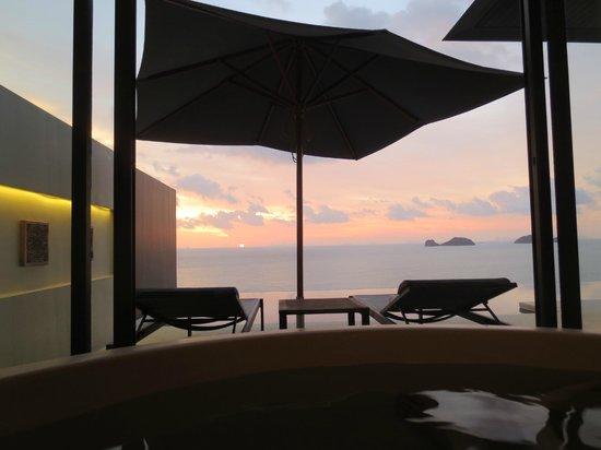Conrad Koh Samui:                   Sunset