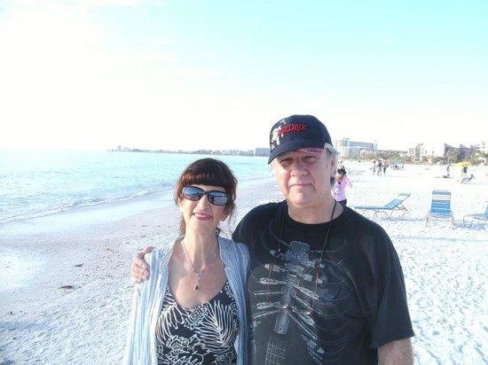 Captiva Beach Resort:                   On the beach