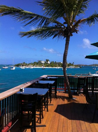 John Eddie's Lowlife Bar & Refuge: A stunning lunch time view from our upperdeck!