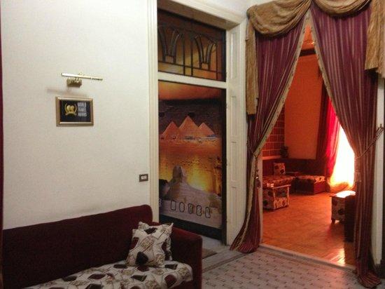 Cairo Paradise Hotel: Entrance