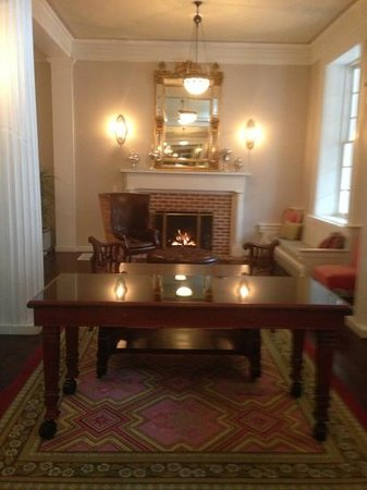 Omni Bedford Springs Resort: in the lobby