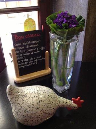 Bistrot Gourmand Clovis :                   be a guest