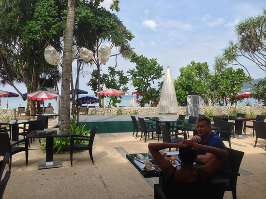 Impiana Resort Patong Phuket: View from the restaurant