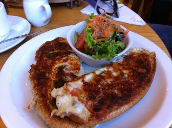 The Apple Pie: brie toasted sandwich