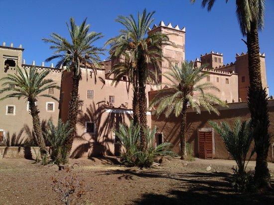 De la terrasse vue sur le riad o se trouvent les chambres for Chambre d hote marrakech