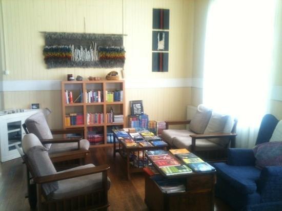 Yendegaia House:                                     livingroom