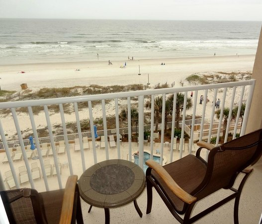Courtyard by Marriott Jacksonville Beach Oceanfront: Balcony