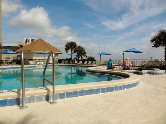 Courtyard by Marriott Jacksonville Beach Oceanfront: Pool