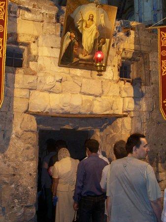 Museum New Jerusalem:                   Кувуклия над Гробом Господнем