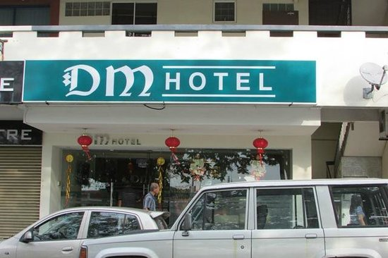 DM Hotel: Hotel Signage easily visible