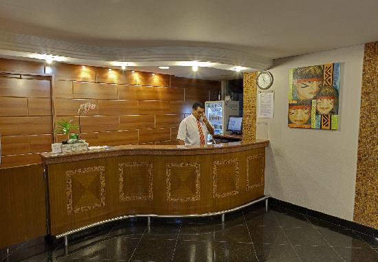 Del Rey Hotel: Recepção