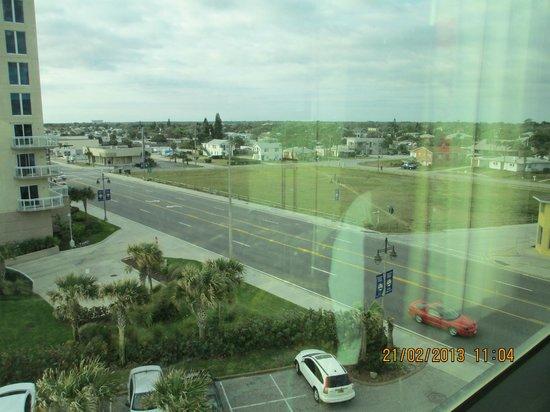 Oceanside Inn:                                     street view from rm