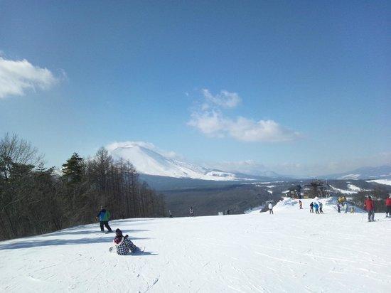 President Resort Karuizawa:                   snowpark