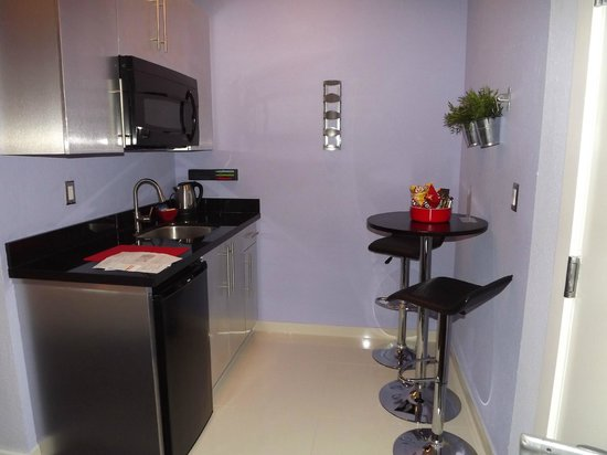 M Boutique Hotel:                   Small Kitchenette