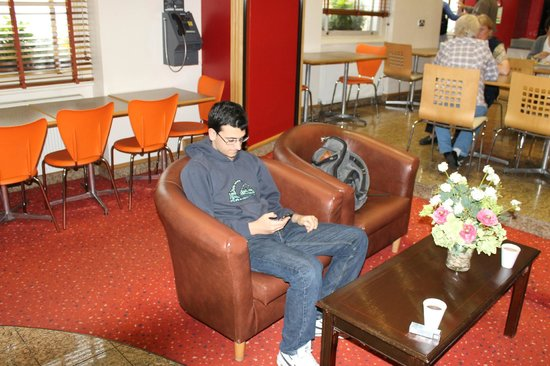 Comfort Inn Buckingham Palace Road:                   my brother in the hall