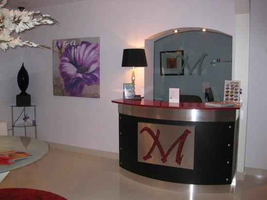 M Boutique Hotel :                   Small reception