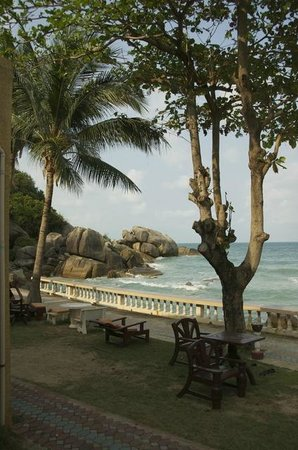 Crystal Bay Beach Resort:                   Veiw from porch