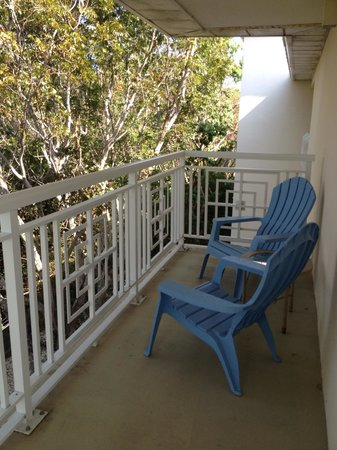 Hilton Key Largo Resort:                   Corner balcony