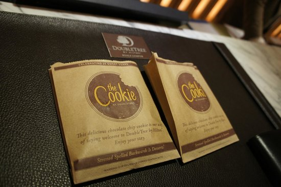 DoubleTree by Hilton Hotel Kuala Lumpur: Welcome Cookie at check in