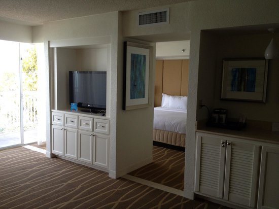 Hilton Key Largo Resort:                   Entry to bedroom