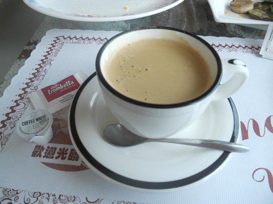 Shiti Yuan:                                     wonderful espresso!