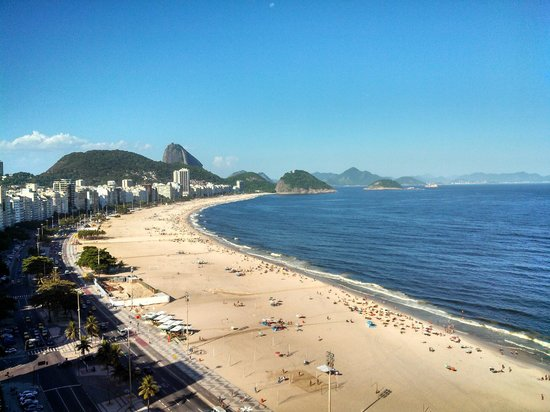 Rio Othon Palace Hotel:                   Sugarloaf from 18th Floor Superior Front Ocean View Room