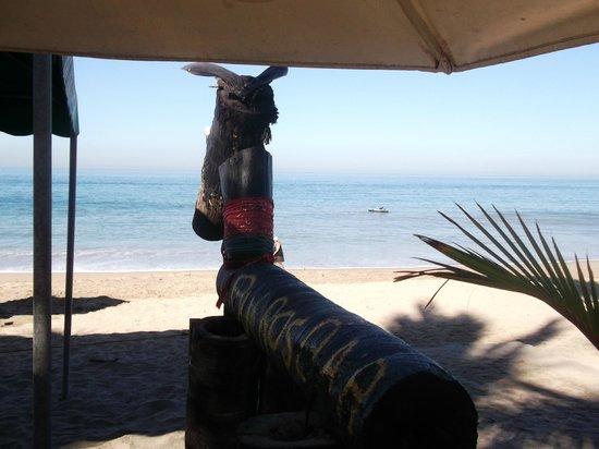 BURROS BAR & RESTAURANT:                   The burro at Burro's Bar
