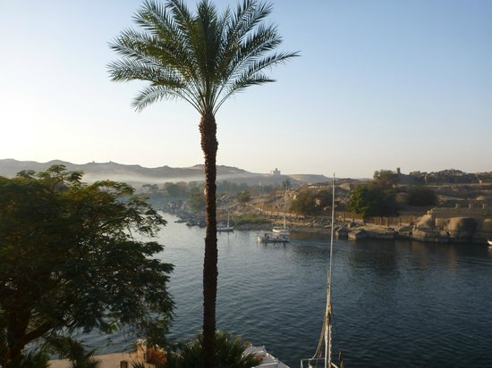 Sofitel Legend Old Cataract Aswan:                   View down the Nile