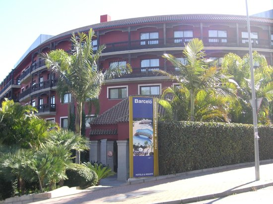 Barcelo Marbella: Hotelvorderansicht