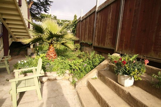 Ocean View Inn: Garden Area