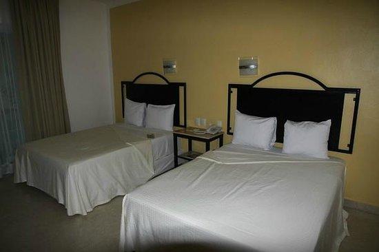 Hotel Chablis Palenque: Standardzimmer mit 2 Doppelbetten