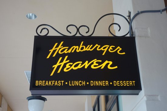Hamburger Heaven : At the End of Clematis Street