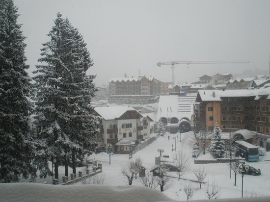 Hotel Piz Galin:                   panorama dalla camera