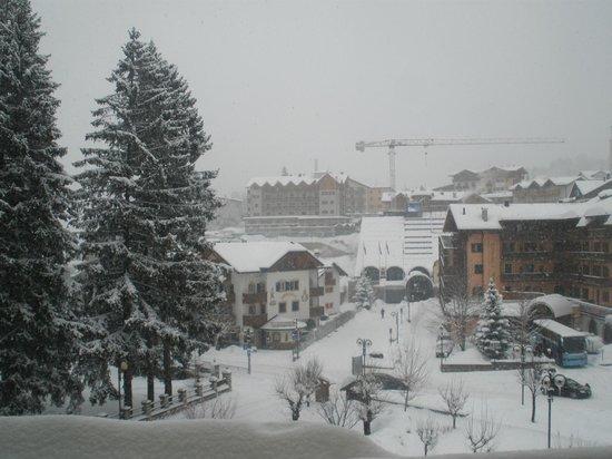 Hotel Piz Galin :                   panorama dalla camera