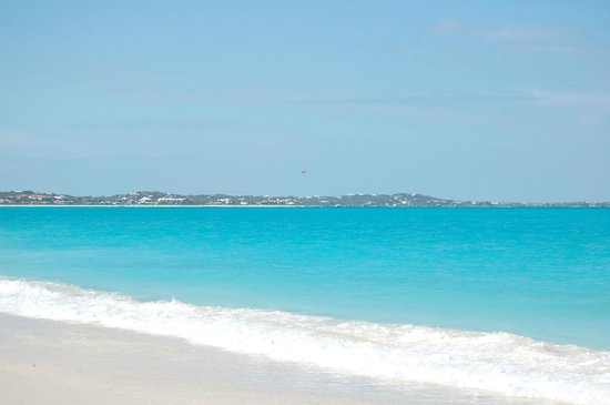 Sands at Grace Bay:                   beautiful beach