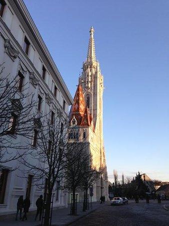 Hilton Budapest: Outside