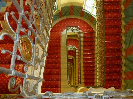 Hotel Paris Prague:                   stairs