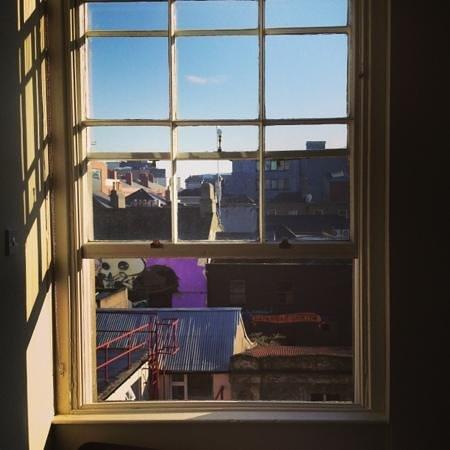 Adelphi Guesthouse:                   utsikt