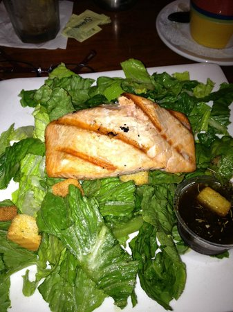 Phil's 41: Great salmon, sodden romaine