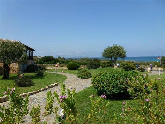 Hotel Costa Caddu: vue sur mer