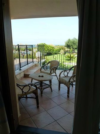 Hotel Costa Caddu: la terrase de la chambre