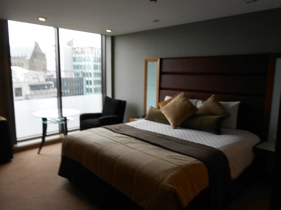 Radisson Blu Edwardian Manchester:                   Delux City view