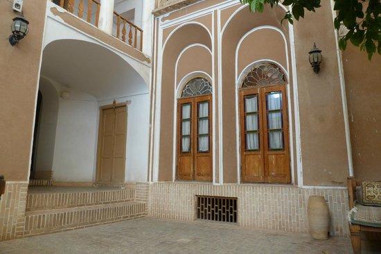 Traditional Kohan Hotel:                   Room window
