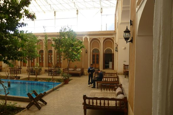Traditional Kohan Hotel:                   View from the room